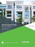 UBC Real Estate Division Calendar - 2016-17